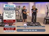 VIBROPOWER EXCERCISE PLATE