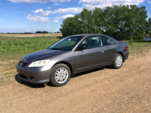 2005 Honda Civic LX Coupe 2 dr  for sale