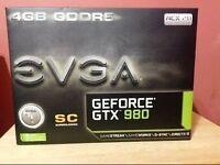 EVGA gtx 980 SC 4gb