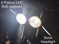Triumph Daytona or Tiger LED Headlight Bulbs - H7