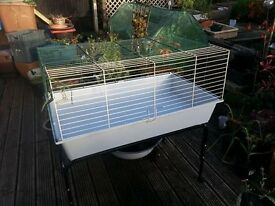 Ferplast large cage with stand for guinea pigs/rabbits