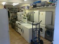 Washing Machine,Tumble Dryer, Dishwasher, Cooker, Fridgefreezer, Fridge,Freezer with 3 Months G'TEE