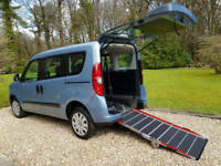 2012 Fiat Doblo 1.4 New Shape Wheelchair Accessible Vehicle Only 5,931 Miles