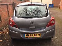 Vauxhall Corsa 2008 1.2
