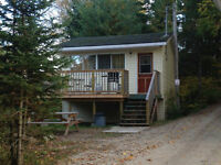 Travel trailer and cottage for rent