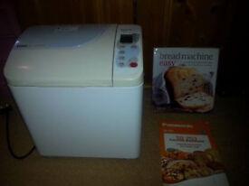 Panasonic breadmaker with rasin / nut dispenser