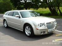 CHRYSLER 300C 3.0 V6 CRD AUTOMATIC TOUR LIGHT GREYSTONE 2010 10 REG 5 DOOR ESTA
