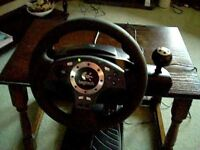 Logitech Driving Force Pro Steering Wheel for PC or PS3 (RRP £119.99)