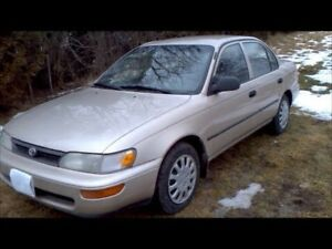 WANTED 1995/1996/1997 Toyota Corolla!!
