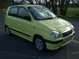 HYUNDAI AMICA GSI AUTOMATIC DISABLED FR YELLOW 2000 W REG 5 DOOR HATCHBACK