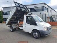 1 year mot ford transit tipper t350 125bhp heavy ram 120k very clean truck 2.2 tdci euro5