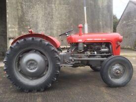 Vintage tractor Massey Ferguson 35