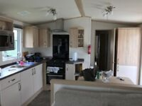 Static caravan for sale located at flamingo land
