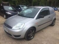 ** NEWTON CARS ** 05 55 FORD FIESTA 1.4 TDCI VAN CONVERSION, VGC, £30 TAX, MOT MAY 2017, P/EX POSS