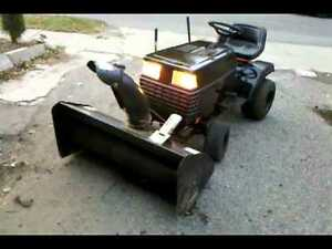 Looking For: Lawn tractor snowblower