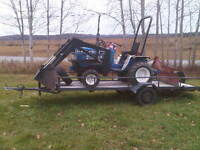 Feed Tractor and trailer
