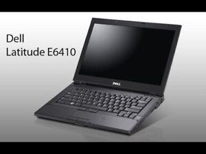 Dell E6410 Laptop - Core i5, Win10, 80GB HD, 4GB RAM, Webcam