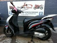HONDA PS 125 BLACK/SILVER 2006 IN GOOD CONDITION £1050