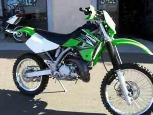 Looking for a Kawasaki KDX 220 in nice shape