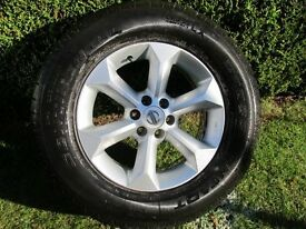 "Nissan Navarra Alloy Wheel And Tyre 17"""