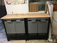 Flexistore Plastic Storage Cabinets