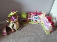 ELC HappyLand Fairyland Bluebell Bootb+play house