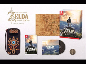 Zelda Breatg of the Wild Special Collector Edition ! Switch