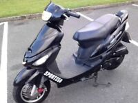 sonik 50cc moped moted