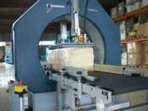 2007 Robopac Compacta 1200/A-TS Feed throughWrapper