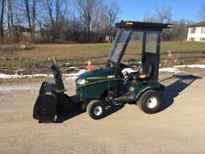 Craftsman 25HP Lawn tractor with blower