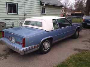 1988 Cadillac coupe DeVille 2 door Certified E-tested