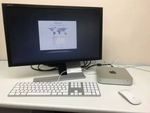 Apple Mac Mini i7 CPU 16GB Ram Refurbished with 24