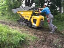 TIGHT ACCESS HIGH TIP TRACKED DUMPER DRY HIRE (700MM WIDE) Belmore Canterbury Area Preview