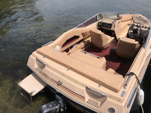 1986 sunray 16.5 ft bowrider