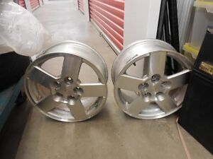 "Four Chevy RIMS  16.5"" with TPS"