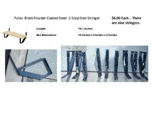 Steel 1-Step Stair Stringers