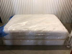 Queen Pillow Top Bed **delivery Included