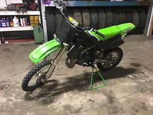 2002 factory racing KX 85 with ownership