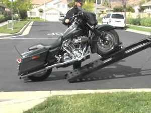 Rampage electric motorcycle loader