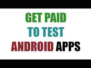 EASY MONEY!!!! Download and Test apps/ earn $$$$!