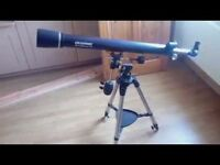 'Celestron AstroMaster 70EQ' Telescope ideal for novice and advanced astronomers