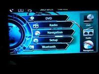 Xtrons 7inch DVD,SAT NAV, TV,USB,memory Card,bluetooth 70f !!!!!