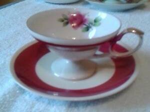 CHINA CUPS & SAUCERS OVER 50 YEARS OLD