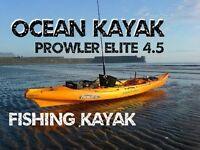 NEW ocean kayak prowler4.5