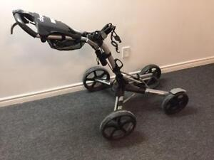 ClicGear Model 8.0 4 Wheel Push Cart Pre-Owned