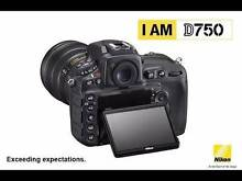 BRAND NEW NIKON D750 CAMERA BODY Annerley Brisbane South West Preview