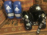 Adidas and Blitz Sparing kit (childs)