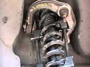 Replace shocks/struts on 2006 Cadillac STS
