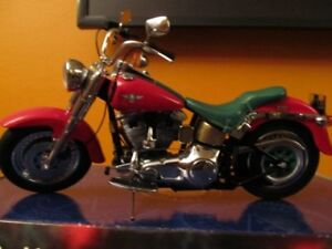Franklin Mint HD Fat Boy Limited Edition Christmas 2000 replica.