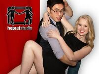 Swing Dance Lessons (Ages 15 to +70)
